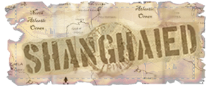 Shanghaied map logo