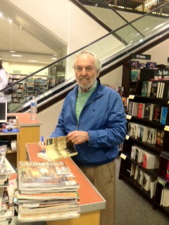David at Barnes & Noble signing copies of Shanghaied.