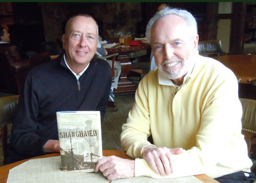 "Barry Morrow and David Collins, author of ""Shanghaied"""