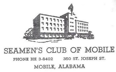 Seamens' Club, Mobile, Alabama